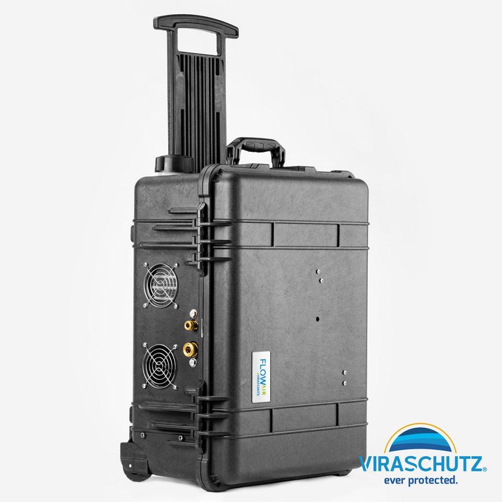 Flow Air Sprayer for Viraschutz
